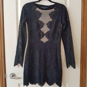 For Love & Lemons | Lace Mini Dress